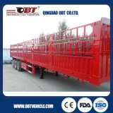 50ton Aanhangwagen van de Staak van het Vervoer van de Lading stortgoed van het staal de Materiële
