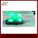 Tactique survivre à la lumière de sûreté extérieure verte de phare