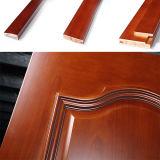 Porte en bois de PVC de bonne qualité avec le verre