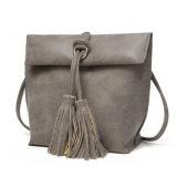 Sacs de cordon en cuir de femmes de sac à main de gland