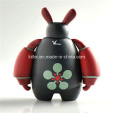 La mini figura di azione del fumetto del regalo di natale di modo plastica scherza il giocattolo