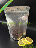 Packpapier-Reißverschluss-Tasche; NahrungsmittelFastfood- Tasche