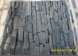De gestapelde Natuurlijke Steen van de Voorzijde van het Kwartsiet Buiten (smc-FS040)