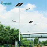 Luz de rua solar separada energy-saving do painel solar