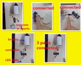 Sistema Solar portable para el uso casero
