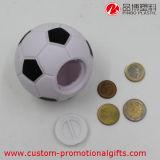 Casella di plastica di risparmio della moneta di gioco del calcio del globo creativo di pallacanestro