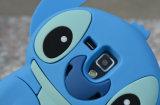 милое аргументы за Samsung S6 силикона стежком шаржа 3D