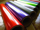 Прозрачные цветастые пластичные листы PVC для упаковывать