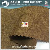 pelle scamosciata del Faux impressa 100%Polyester/micro tessuto della pelle scamosciata per tappezzeria, caricamenti del sistema