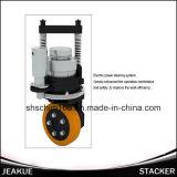 Apilador eléctrico lleno de la batería de la pierna de una gama de 1.4-1.6 toneladas más amplia