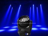 19*10W RGBW Osram LEDのズームレンズのビーム洗浄移動ヘッドライト