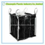 バッフルが付いている黒く大きい容器のジャンボバルク袋