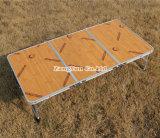 屋外の携帯用折るピクニック用のテーブル、キャンプ表
