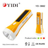 1W Rechargeable Solar Torch Light