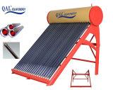 Qal sin presión calentador de agua solar Decimosexto 200L8