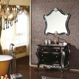 Vanité antique personnalisée de salle de bains de stand d'étage