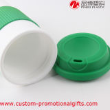 Pp Material Custom Plastic Coffee Cups con Cover
