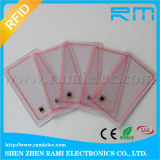 Cr80 carte claire de l'IDENTIFICATION RF NFC 13.56MHz/transparente ultra-légère de PVC