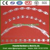 ステンレス鋼または電流を通されたBto-22のためのかみそりテープアコーディオン式ワイヤー