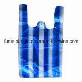 HDPE 파란과 백색 분리된 조끼 부대