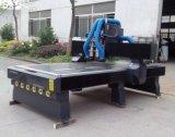Máquina auto de madera del grabado del cambio del eje de rotación del ranurador multi del CNC