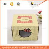 Rectángulo de torta de papel del OEM de la venta caliente del diseño de Fency