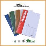 A5 - tampon de mémoire de bureau de Notepad d'école de cahier de livre À couverture dure de 64 feuilles pour la promotion