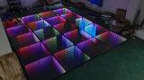 Свет танцевальной площадки волшебства 3D СИД для выставки движения освещения DJ