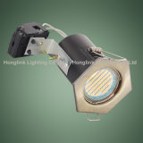 Scheinwerfer Downlight der Hexagon-Messingfeuer bewerteter vertiefter Decken-GU10 LED