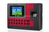 Le système biométrique de service de temps avec le lecteur de cartes d'IDENTIFICATION RF de lecteur de cartes d'ID/MIFARE personnalisent la fonction