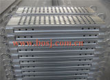 Construction Roll Forming Making Machineタイのための電流を通されたSteel Mesh Scaffold Planks
