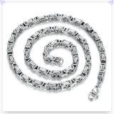 Catena dell'acciaio inossidabile della collana di modo dei monili di modo (SH060)