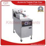 Friteuse verticale de pression de poulet de gaz de Kag600L avec le système automatique de filtration du matériel de cuisine de restauration