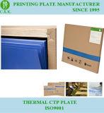 Plaque CTP thermique résistant aux UV à longue exécution