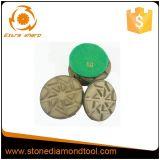 3 Malende Stootkussen van de Diamant van de Band van het Metaal van de Klitband van de duim het Concrete