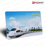 Bilhete do cartão do transporte público RFID