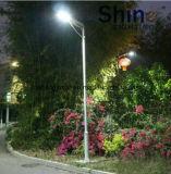 Migliore prezzo per 50With60W tutto in un indicatore luminoso di via solare del LED con l'alta qualità (JINSHANG SOLARI)