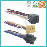 Harnais de câble enveloppé par PVC léger du harnais H4 de fil de véhicule d'Assemblée