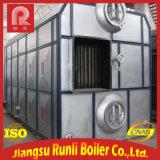 Chaudière à eau chaude frite par charbon de vapeur de tambour de SZL double