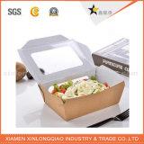 Rectángulo de papel seguro de Kraft de la categoría alimenticia de la alta calidad para el alimento