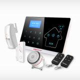 Sistema di allarme manuale senza fili di GSM di obbligazione domestica dello PSTN con l'allarme rapido sul comitato per medico, fuoco, furto con scasso