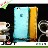Caixa macia Anti-Shock do telefone de pilha do coxim de ar TPU para o iPhone 6 6s