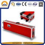 Красный алюминиевый случай аппаратуры полета гитары (HF-6025)