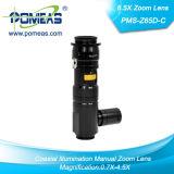 Gerastetes Zoomobjektiv für Solder Inspection mit Coaxial Illumination