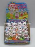 おかしいウサギのドラマーのチームキャンデーのおもちゃ