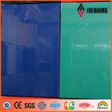 Nuovo PVDF alto ASP rivestimento lucido progettato della parete divisoria di Ideabond per la decorazione esterna dal fornitore della Cina