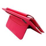 iPadの可動装置または携帯電話のための手の/CardのホールダーPUの革箱