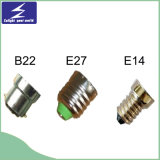 Base del sostenedor de la lámpara de E27 B22 E14 para la luz del LED