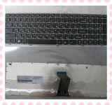 Claviers gris de disposition de la couleur RU de clavier d'ordinateur portatif pour Lenovo Z560
