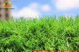 tappeto erboso sintetico dell'erba di verde altamente permeabile degli animali domestici di 35mm